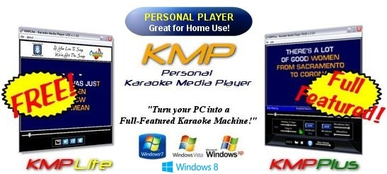 KMP Personal Karaoke Player Software