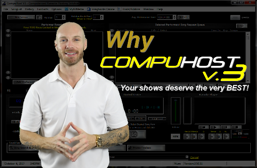 CompuHost V3 Professional Karaoke Hosting Solution